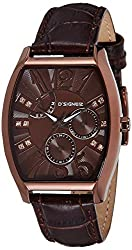 DSIGNER Analog Brown Dial Womens Watch - 644BRNL