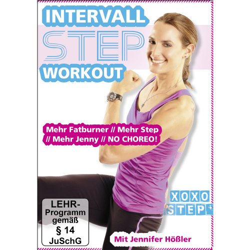 Jennifer Hößler: Intervall Step Workout ++ Mehr Fatburner // Mehr Step // Mehr Jenny // NO CHOREO » Dein neues Step Workout ++