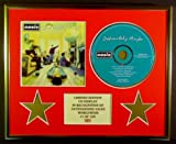 OASIS/CD DISPLAY/LIMITED EDITION/COA/DEFINITELY MAYBE