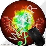 Tappetino per Mouse Gaming Mouse Pad base Antiscivolo in Gomma Trattato Speciale Tessuto Chiave con ali d'acqua 1M1556