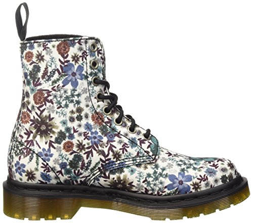Dr. Martens CORE PAGE O.WHIET WANDERLUST C, Scarpe Low-Top Donna Multicolore (Off White Wonderlust)
