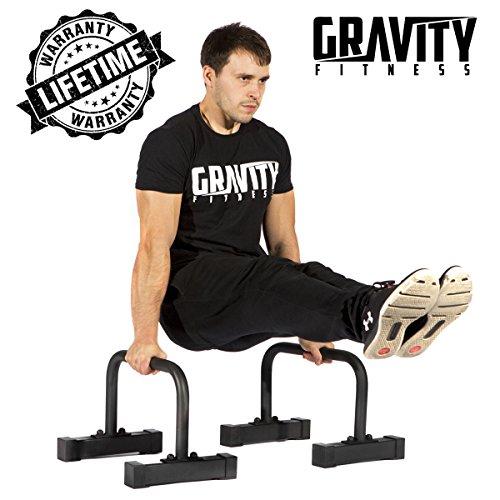 Gravity Fitness - Barres Parallèles pour Crossfit, Callisthénie, Gymnastique, Musculation