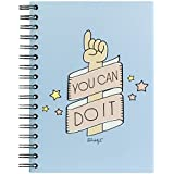 """Mr. Wonderful - Notebook, diseño """"You can do it"""""""