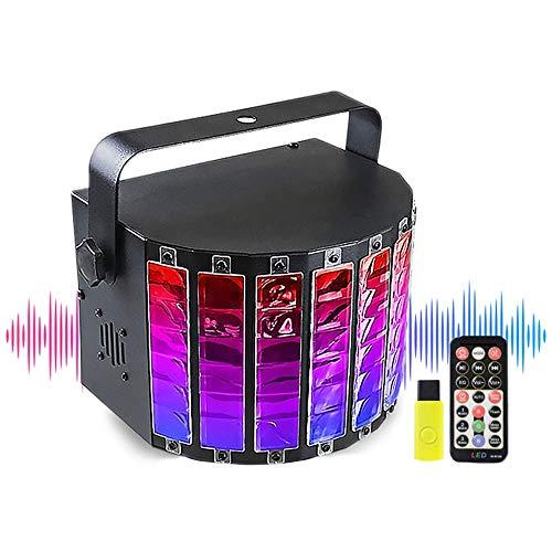 SUTIANZHANG 13W LED-Nachtlicht Bluetooth-Audio 9 Farblaser Bühnenlicht, Flash-Fernbedienung Stimme