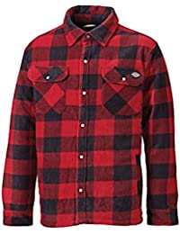 Dickies Portland Padded Shirt Red - L (44-46in) DICPADREDL