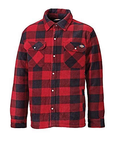 DICSH5000-R-S - Dickies Portland Shirt Red Small