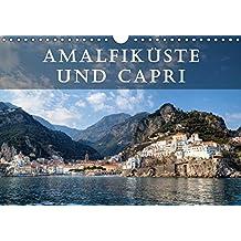 Amalfiküste und Capri (Wandkalender 2018 DIN A4 quer): Die Amalfiküste und die Insel Capri gelten als die schönsten Mittelmeer-Destinationen. (Monatskalender, 14 Seiten ) (CALVENDO Orte)