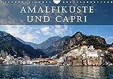 Amalfiküste und Capri (Wandkalender 2018 DIN A4 quer): Die Amalfiküste und die Insel Capri gelten als die schönsten Mittelmeer-Destinationen. ... Orte) [Kalender] [Apr 01, 2017] Kruse, Joana - Joana Kruse