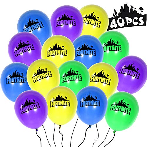 LlorenteRM Fort Game Balloons Decoration Party Decorations For Fort Game Lovers 40pcs
