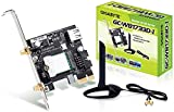 Gigabyte GC-WB1733D-I - 1733MBit W-LAN + Bluetooth 5 Modul PCIe - WiFi Expansion Card - GC-WIFI
