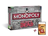 Unbekannt Monopoly The Walking Dead Survival Edition Brettspiel Gesellschaftsspiel Spiel + Zusatzartikel (+Crossbow Schlüsselanhänger)