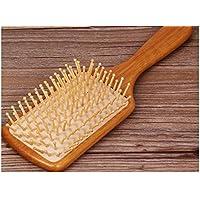 welwel Oro Spazzola con legno di sandalo, non statico spazzola spazzola per massaggi