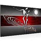 Quadro Figure astratte - XXL Immagini Murale Stampa su Tela Decorazione da Parete Pronte per l'applicazione -301214a