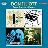 4 Classic Albums: Quintet / Mellophone / Counterpoint For 6 Valves / At The Modern Jazz Room by DON ELLIOTT