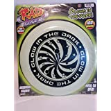 Rad Flyer Rad Flyer Glow In The Dark White Frisbee With Graphics Flying Disc Toy
