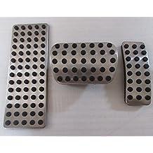 No Taladro Gas Pedal de freno acero inoxidable antideslizante acelerador Pedal de freno cubierta se ajusta