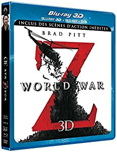World War Z [Combo Blu-ray 3D + Blu-ray + DVD - Version longue inédite]