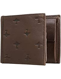 FOSSIL Pilot Large Coin Pocket Bifold Brown
