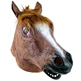 The Twiddlers Máscara de Cabeza de Caballo de Latex Fiestas de Disfraces de Halloween - Eventos - Carnavales - Disfraz