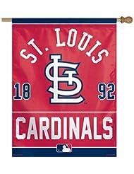 MLB St. Louis Cardinals Logo/AN Établies vertical Drapeau, 68,6x 94cm par WinCraft