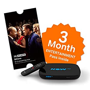 NOW TV Smart Freeview Box – 3 Month Unlimited Entertainment Voucher Bundle