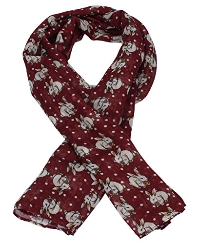 mini-lola-rabbit-print-scarf-in-burgundy