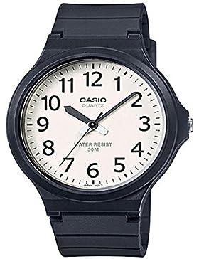 Casio Collection Herrenuhr Analog Quarz mit Resinarmband – MW-240-7BVEF