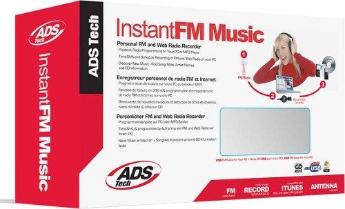 ADS INSTANT FM MUSIC RDX-155-EFG Persönlicher FM und Web Radio Recorder
