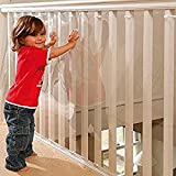 Safetots Rampe d'escalier de sécurité Plastique Guard