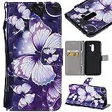 Bangcool Xiaomi Poco F1 Brieftasche Etui Stoßfestes Telefongehäuse Kompatibel mit Xiaomi Poco F1