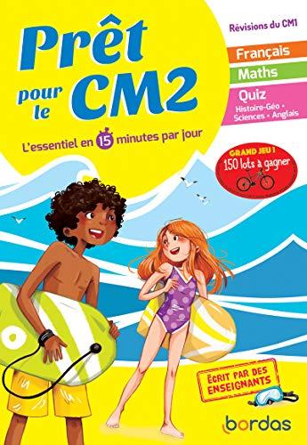 Prêt pour le CM2 - Cahier de vacances, révisions du CM1 par Emelyne Giraudon