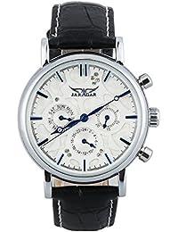 GuTe elegante de color azul marino/reloj de pulsera automático para el día de la