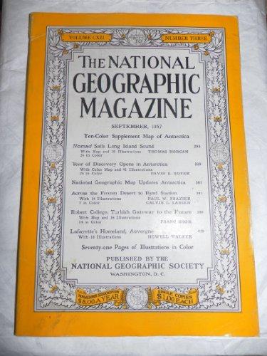 National Geographic Magazin (National Geographic Magazine Volume Cxii Number 3 - September 1957)