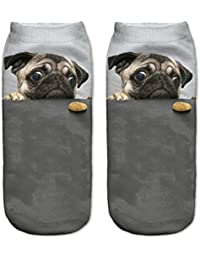 Calcetines tobilleros, de Fringoo, divertidos, para niños y adolescentes