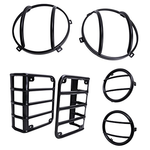 wanoos-headlight-cover-turn-signal-light-euro-guard-taillight-protector-kits-set-for-jeep-wrangler-2