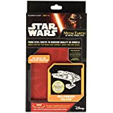 Metal Earth – 5061302 – Maqueta 3d – Iconx – Star Wars – Millennium Falcon – 10,8 x 7,6 x 6,99 cm – 2 piezas