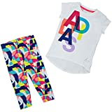 adidas Kinder Leggings I MM G Tight Set, Weiß/Rot, 62, 4055344343906
