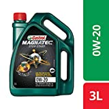 Castrol MAGNATEC STOP-START 0W-20 Full Synthetic Engine Oil for Petrol Cars (3L)