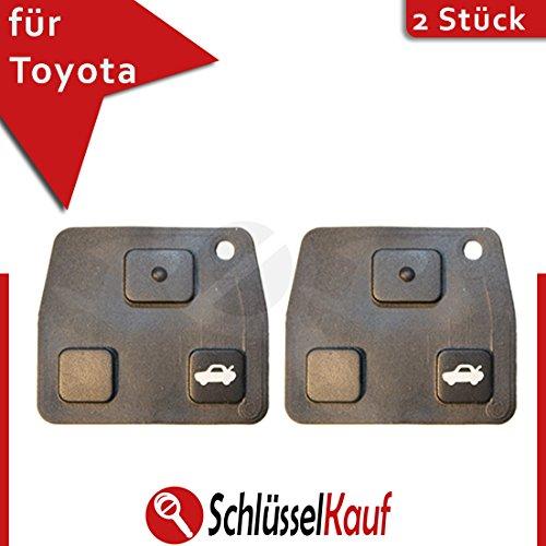 2-stuck-toyota-3-tasten-tastenfeld-gummi-ersatz-taste-auto-schlussel-lexus-neu