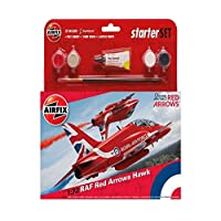Airfix A55202B Other RAF Red Arrows Hawk 2015 Starter Set Model