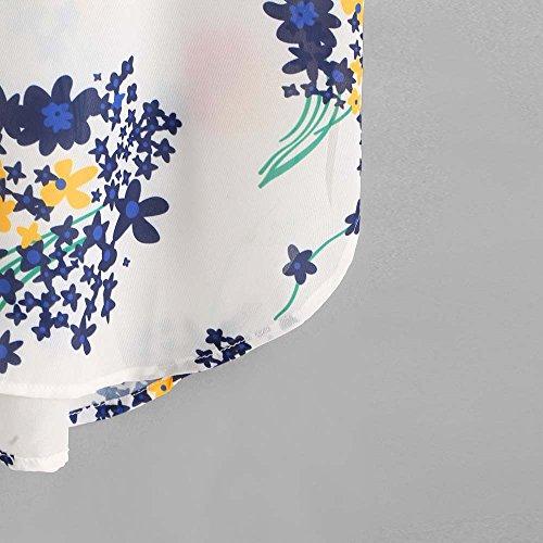 Longra Donna Camisole floreale Multicolor