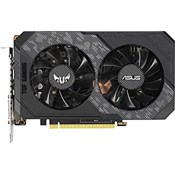 ASUS TUF Gaming GeForce GTX 1660 6 GB GDDR5 with Backplate & IP5X Dust Resistance Provides Durability & Performance TUF-GTX1660-6G-GAMING
