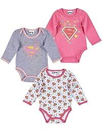 Lot 3 bodys Superbaby 3/6/12/18/24 mois