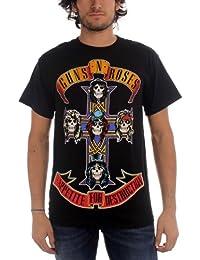 Guns N Roses - - Logo Afd hommes Jumbo T-shirt In Black