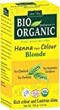 Indus Valley henné cheveux colorant couleur blonde 100% bio organique triple tamisée en poudre microfine (Blonde)