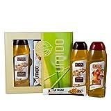 UMIDO Beautyset Duschgel 250 ml Shea-Butter & Koriander, Hand-Lotion 45 ml Apfel-Zimt & Duschgel 250...