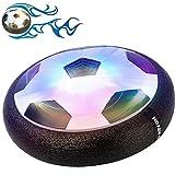YKS Air Power Fußball Indoor Fußball Hover Power Ball mit LED Bunte Beleuchtung, Perfekt Zum Spielen in Innenräumen Ohne Möbel Oder Wände zu beschädigen