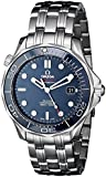 Omega Men's Steel Bracelet & Case Automatic Blue Dial Analog Watch 212.30.41.20.03.001