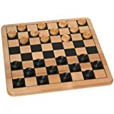 Cardinal Solid Wood Checkers by Cardinal Industries