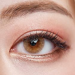 O-LENS Russian Velvet Brown - Coloured Contact Lens(Monthly)